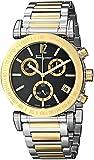 Salvatore Ferragamo Men's FP1890014 Salvatore Analog Display Quartz Two Tone Watch