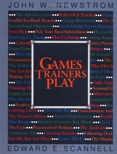 Games Trainers Play (McGraw-Hill Training Series) PDF