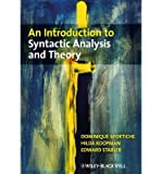 img - for [(An Introduction to Syntactic Analysis and Theory)] [Author: Hilda J. Koopman] published on (August, 2014) book / textbook / text book