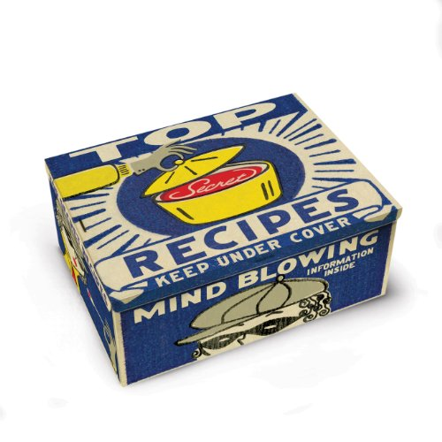 Blue Q Recipes Cigar Box 0