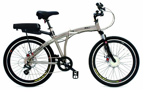 Prodeco Technologies G Plus Storm Electric Folding Bicycle (36V, 300W)