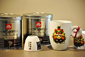 Buy Illy Coffee Iperespresso Brazil - Set 2 cans of 21 capsules each - Illy