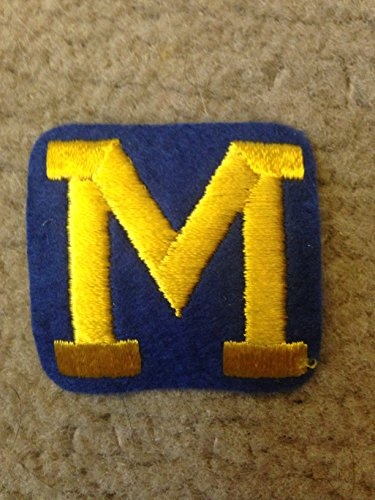 1960'S VINTAGE MICHIGAN WOLVERINES IRON ON PATCH 2