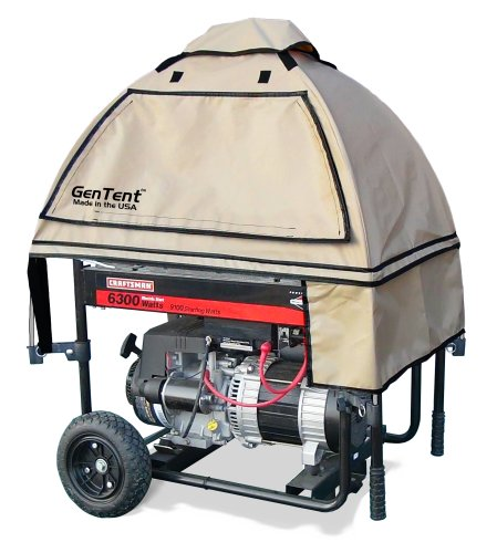 GenTent wet weather safety canopy for portable generators