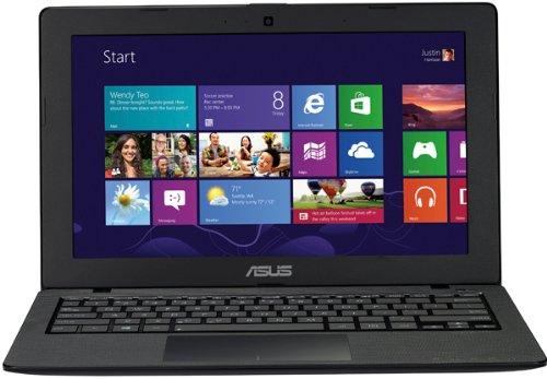 Asus F200MA-KX080D 29,4 cm (11,6 Zoll) Netbook (Intel Celeron N2815, 2,1GHz, 2GB RAM, 500GB HDD, Intel HD, ohne Betriebssystem) schwarz