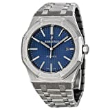 Audemars Piguet Royal Oak Blue Dial Stainless Steel Mens Watch 15400ST.OO.1220ST.03 (Color: Blue)