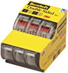 Scotch Permanent Double Sided Tape, 1...