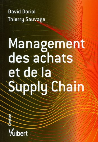 Management des achats et Supply Chain (French Edition)