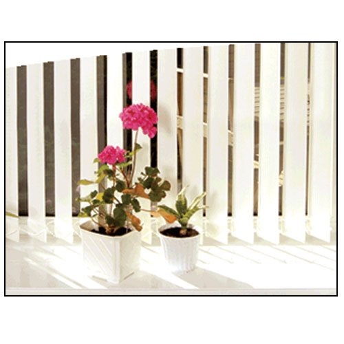 STRIPE VERTICAL BLINDS * MANY SIZES BETWEEN 90cm to 240cm Wide * BLIND AVAILABLE IN WHITE AND CREAM * Cream, 240x240