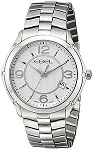 """EBEL Men's 1216175 """"Sport"""" Stainless Steel Watch"""