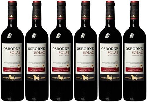 Osborne Solaz Tempranillo / Cabernet Sauvignon 2012, 6 Flaschen (6 x 750 ml)