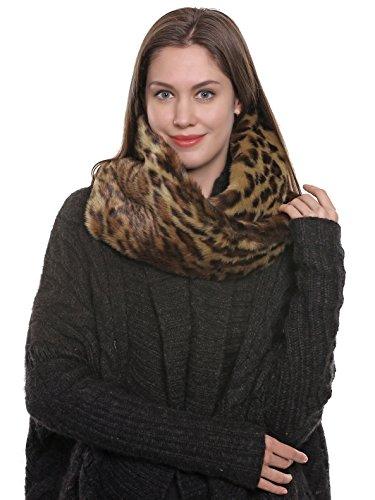adelaqueen-womens-fabulous-faux-fur-neck-warmer-leopard-infinity-scarf-dark-brown