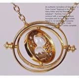Harry Potter Hermione 18k Gold Time Turner Necklace Noble Wizarding World