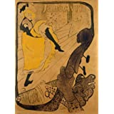 Jane Avril, poster by Henri de Toulouse-Lautrec (Print On Demand)