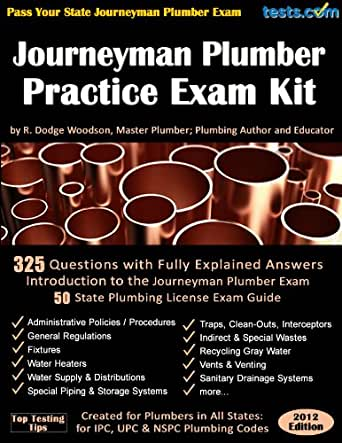 Journeyman Plumber Practice Exam Kit - Kindle edition by R. Dodge Woodson. Crafts, Hobbies ...