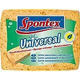 Spontex 19111002 Universal Haushaltsschwamm extra saugstark und reißfest. 3 Stück