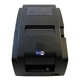 Eversun Technologies Dot matrix receipt printer, w/AutoCutter, Ethernet+USB black EVE-007BN