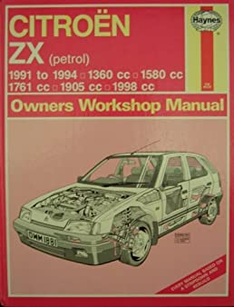citroen zx  petrol  owner s workshop manual  haynes owners workshop manuals  mark coombs Citroen DS3 Citroen Xantia