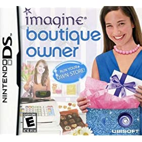 Giveaway: Win one of 2 Imagine Boutique Owner games for your DS