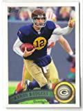 2011 Topps Aaron Rodgers THROWBACK SP/(wearing throwback jersey) GREEN BAY PACKERS at Amazon.com
