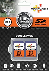 Trail Cam SD Memory Cards, 60x High Speed 2GB, 133x High Speed 4GB, and Class 6 SDHC 8GB