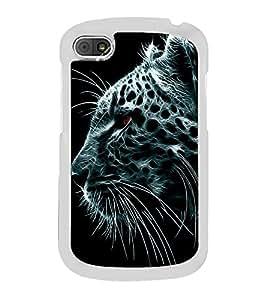 Leopard 2D Hard Polycarbonate Designer Back Case Cover for BlackBerry Q10