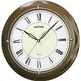 Rhythm Brown Round Added Wall Clocks 37x37x7Cm