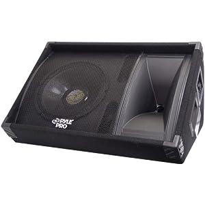 PylePro PASC12 600 Watt 12'' Two-Way Stage Monitor Speaker System
