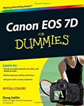 Canon EOS 7D For Dummies Ebook & PDF Free Download