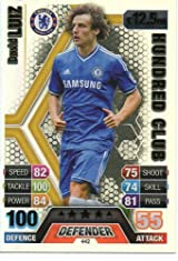 Match Attax 2013/2014 David Luiz Hundred 100 Club Chelsea 13/14