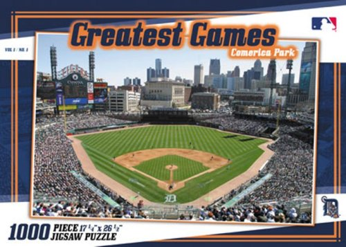 Detriot Tigers  Greatest Games Puzzle - 1