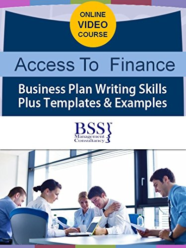 Business Plan Online + 7 hours video lectures, templates, workbook, funding database