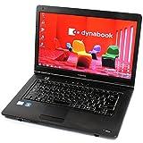 東芝 TOSHIBA dynabook Satellite B450/C Celeron 4GB 250GB DVD-ROM 15.6型液晶 Windows7 中古 中古パソコン ノートパソコン