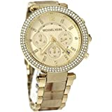 Michael Kors Parker Chronograph Stainless Steel Womens Watch