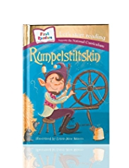 First Readers Rumpelstiltskin Story Book