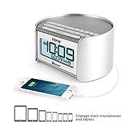 iHome iBT230 Bluetooth Bedside Dual A…