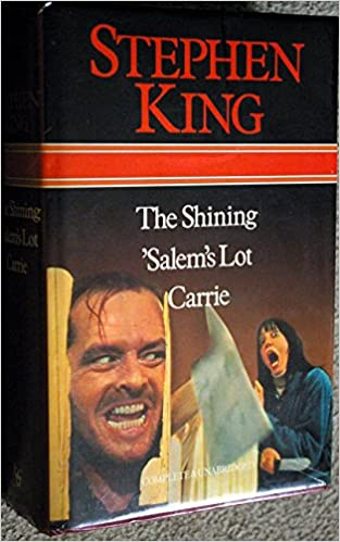 The Shining. 'Salem's Lot. Carrie