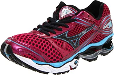 Mizuno Women's Wave Creation 13 Running,Sangria/Anthracite/Aquarius,6 B US