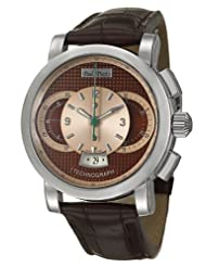 Paul Picot Technograph Color 44 mm Men's Automatic Watch P0334Q-SG-8401