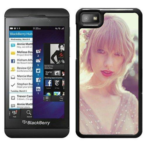 New Custom Design desirable Phone Case with Taylor Swift Red Album Art Black Case For Blackberry Z10