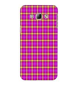 EPICCASE funky checks Mobile Back Case Cover For Samsung Galaxy A8 (Designer Case)