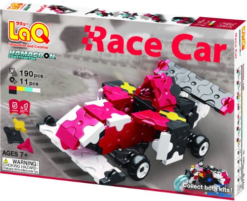 LaQ Hamacron Constructor 2 Race Car Model Building Kits - 1