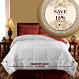 51bAd1vpDJL. SL160  Pacific Coast Luxury Year Round Oversized Down Comforter (Queen/Full 90 x 98)