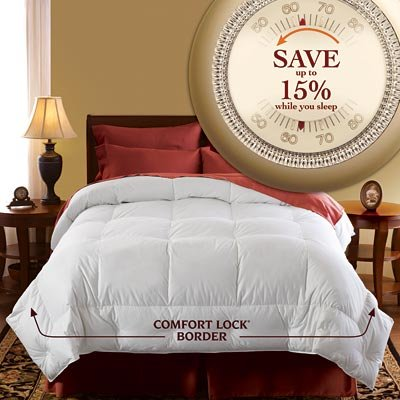 Pacific Coast Luxury Year Round Oversized Down Comforter (Queen/Full 90