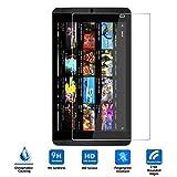 NVIDIA SHIELD Tablet K1強化ガラスフィルム Vikoo NVIDIA K1タブレット 採用0.33mm  0.25D 硬度9H ラウンドエッジ加工 防指紋、撥油性 耐衝撃 (NVIDIA K1, 強化ガラスフィルム)