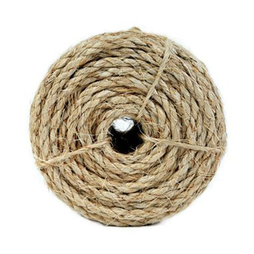 Koch 5300836 1/4 by 100-Feet Sisal Twisted 3