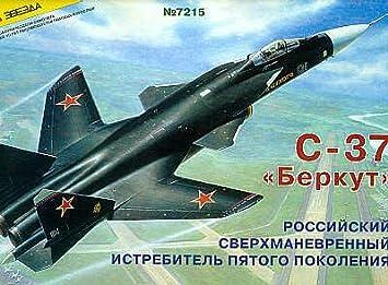 Zvezda 7215 Sukhoi Su-47 Berkut 1:72 Plastic Kit Maquette