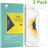 MouKou iPhone 6/6s Screen Protector 2 Pack