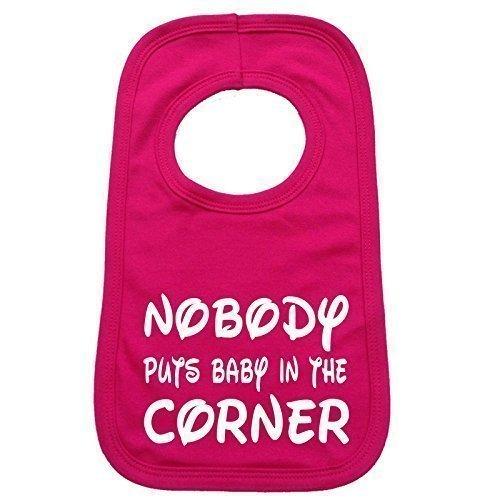 123t-Baby-Baby-Ltzchen-Nobody-Puts-Baby-In-The-Corner-Design-Einheitsgre-Knallrosa