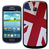 Fancy A Snuggle Union Jack of Great Britain England UK Clip-on Hard Back Cover for Samsung Galaxy S3 Mini i8190